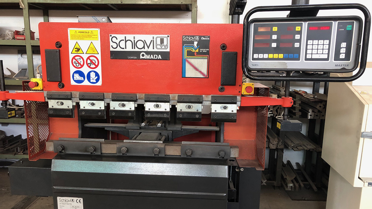 Schiavi RG 25-12A Press Brake