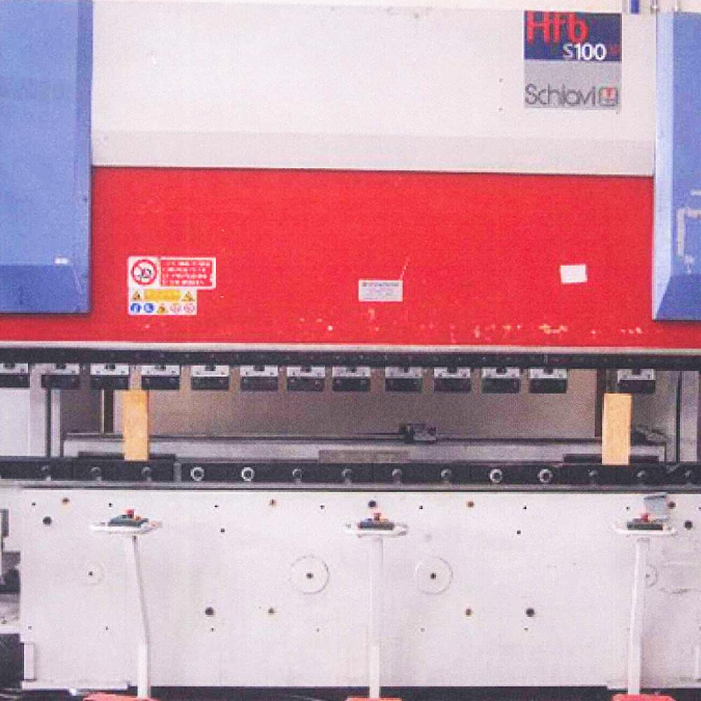 Pressa Piegatrice Usata Schiavi HFBS 100-3 + Robot RCS 8kg